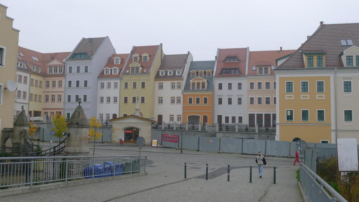 Plac Pocztowy (Postplatz)/Töpferberg in Zgorzelec/Görlitz