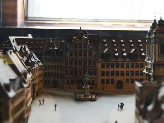 Egidienplatz Modell
