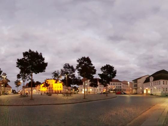 Neustrelitz Marktplatz