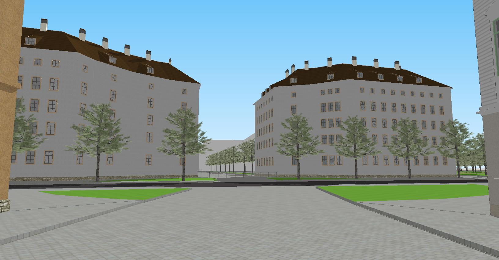Schule von Pirnaischer Straße