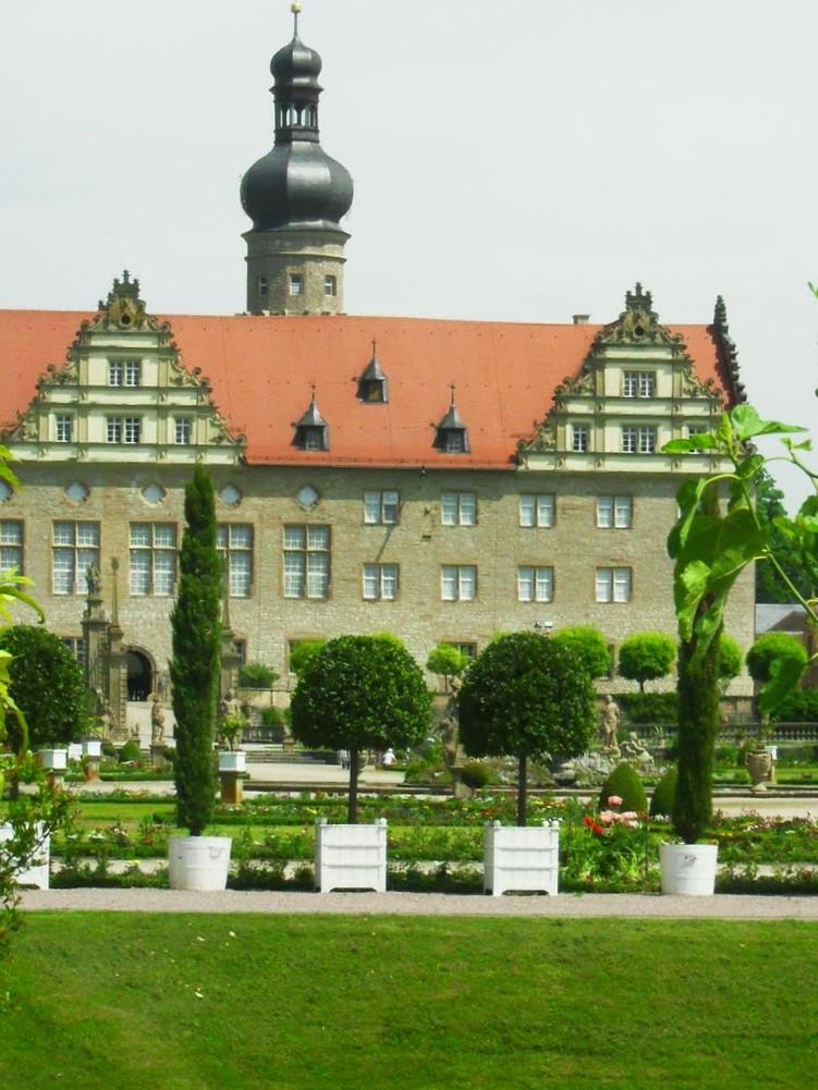 Hohenlohe-Schloss Weikersheim mit Park