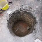Historischer Brunnen, Fund