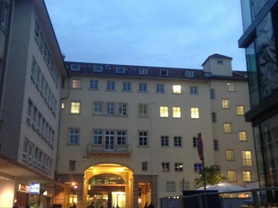 Durchfahrt Stephanstraße zur Bolzstraße