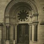 Romanisches Haus I, Haupteingang