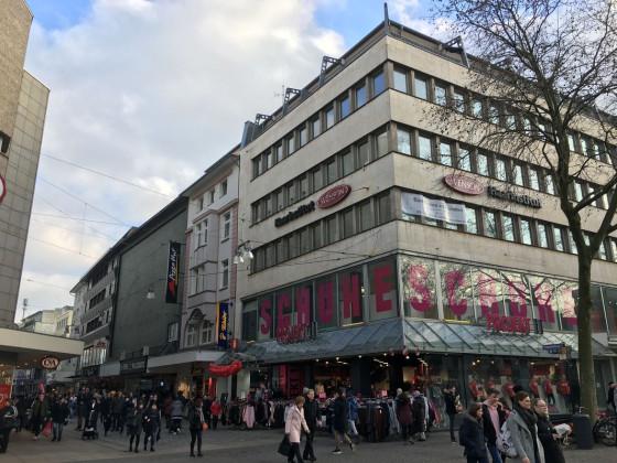 Dortmund - Ostenhellweg, Ecke Kleppingstraße