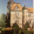 Schlossturm Neustrelitz Farbe 1940 Albert-Geyer-Bau Foto Herbert Jung - Kopie