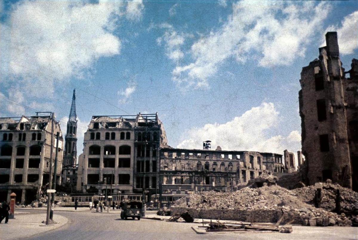 Spittelmarkt Berlin 50er