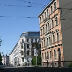 Leipzig Westvorstadt Friedrich-Ebert-Straße nachher