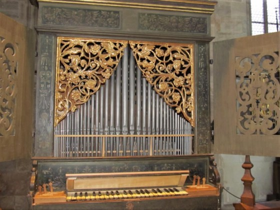Cuntz-Orgel 1610 im Münster Dinkelsbühl