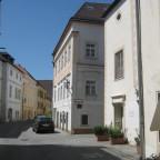 Steiner Landstrasse Richtung Westen vom Osttor (Kremser Tor)