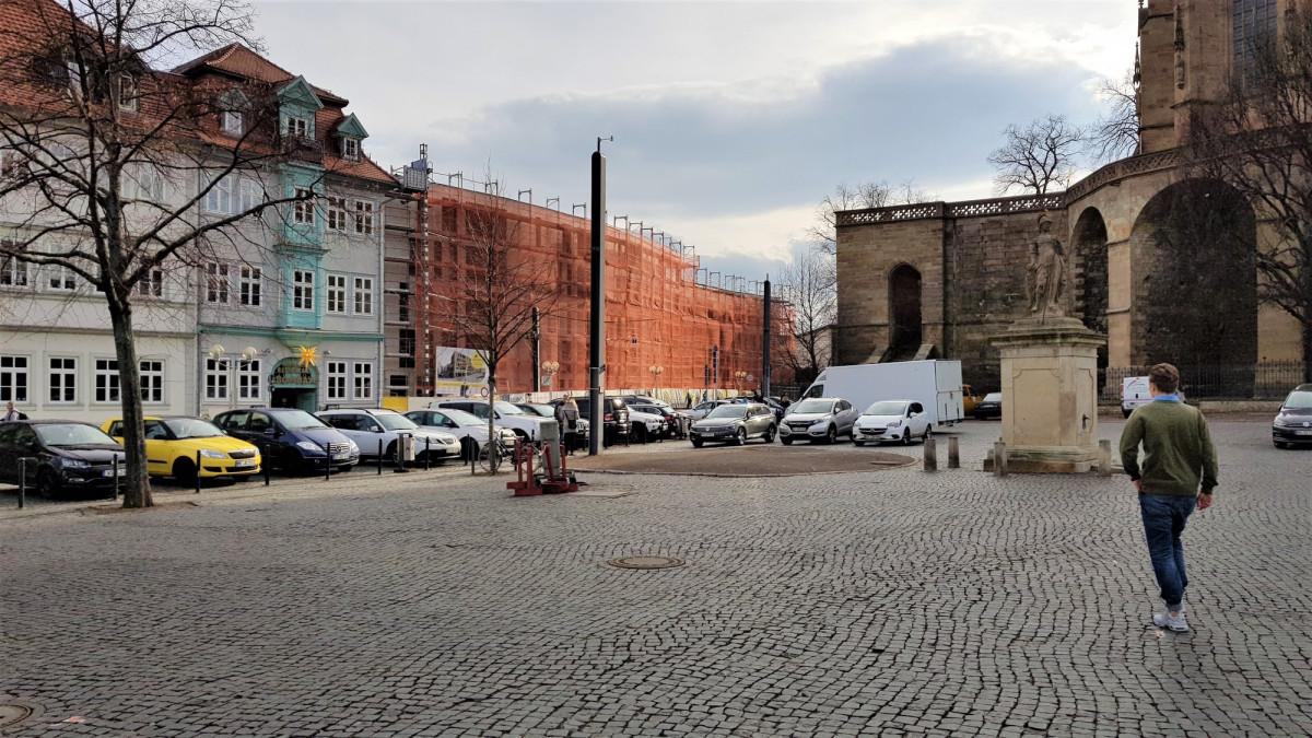 Erfurt Wohnen am Dom Domstrasse 1 Maerz 2018
