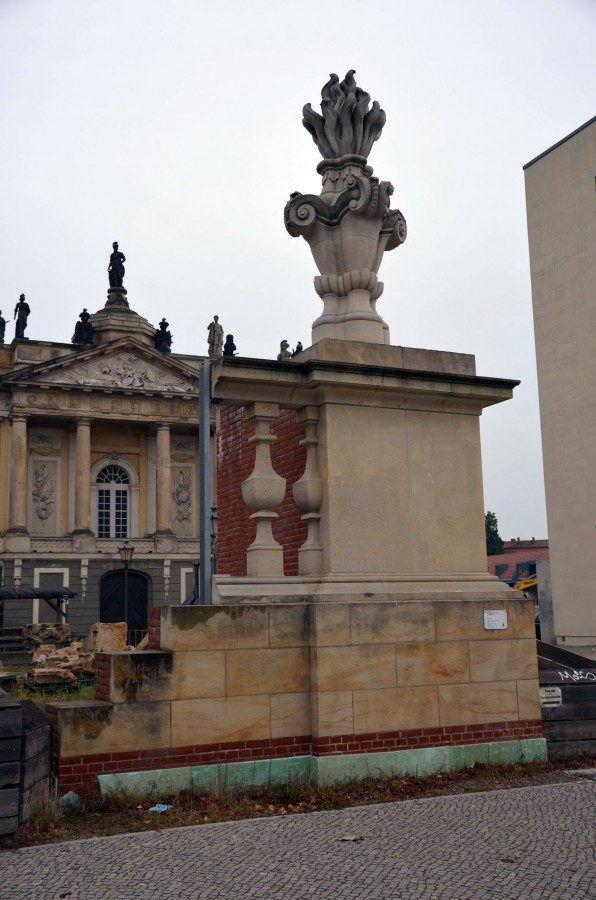 Probeaufbau Garnisonkirche Potsdam 2016