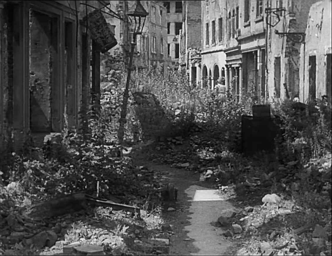 Konviktstraße Freiburg im Breisgau ca. 1950 - Architekturforum Architectura  Pro Homine
