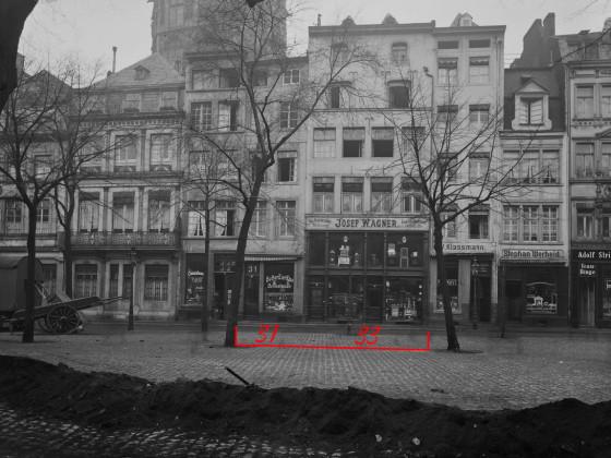 Köln Alter Markt/Bürgerstraße, Rotes Haus mögliche Rekonstruktionen