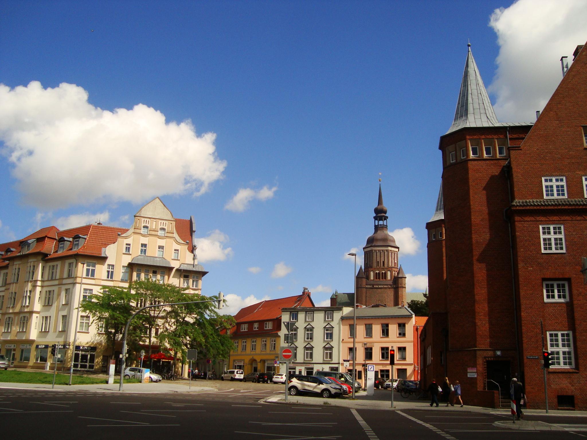 Stralsund St. Marien Neuer Markt