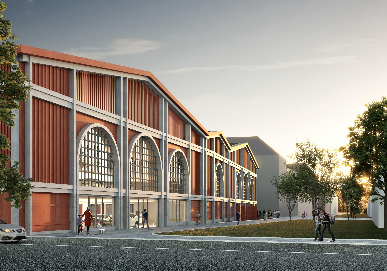 Klassisk utformning på nya parkeringshuset i Upplands Väsby 3