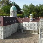 Schloss Neustrelitz Modell Modellpark Mecklenburgische Seenplatte Mai 2008